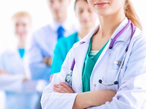 Médicos y enfermeros geriatría