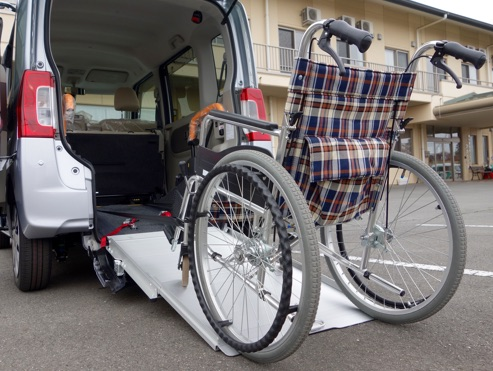 Transporte adaptado personas mayores