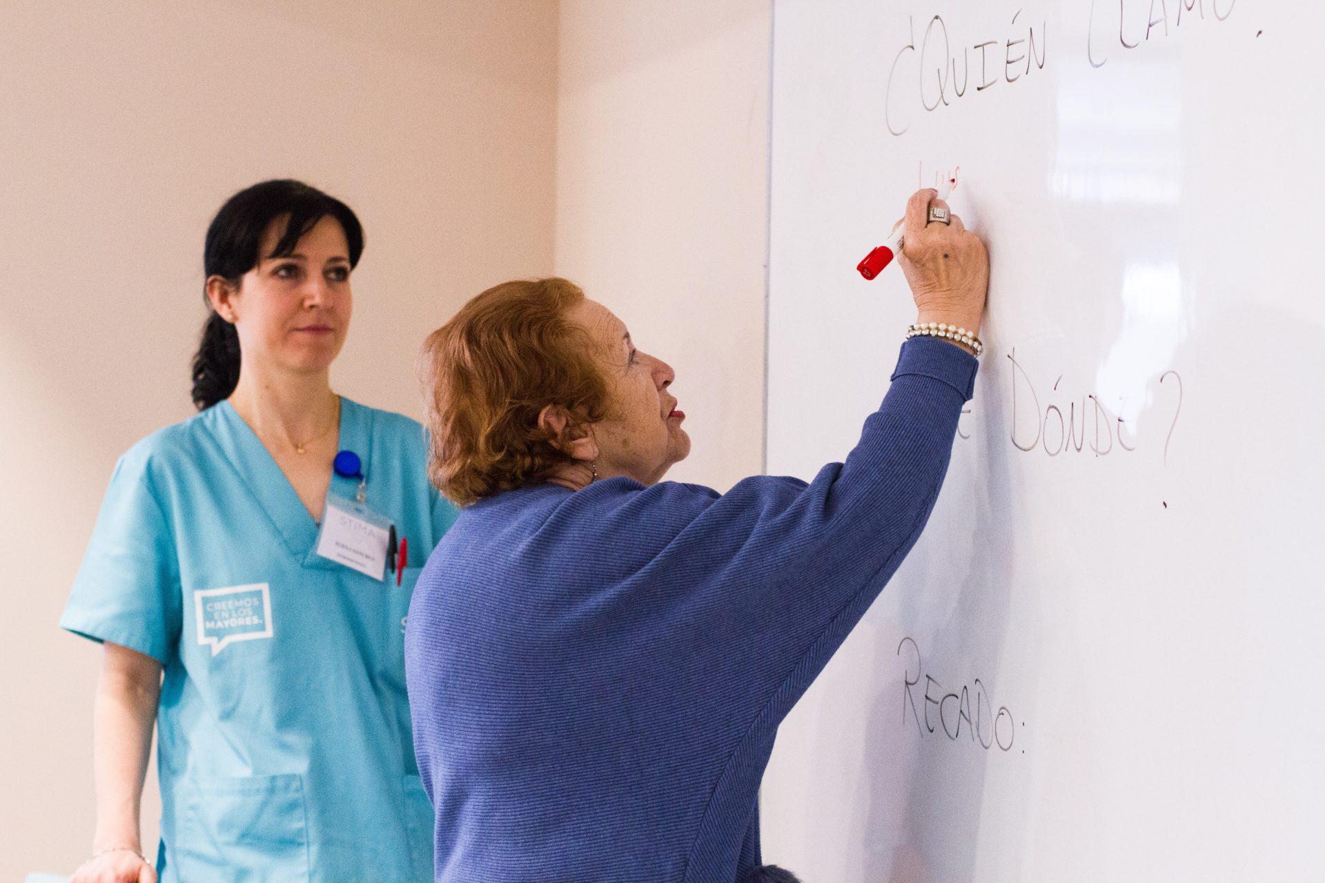 actividades terapia ocupacional mayores